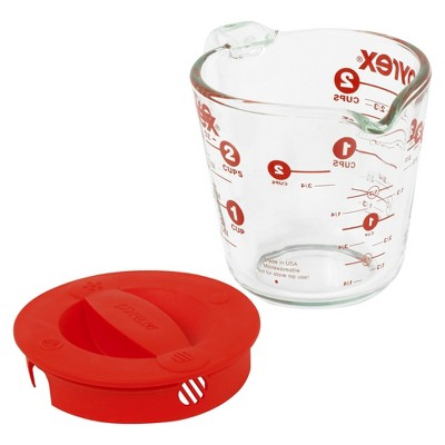 Pyrex 2cp Measuring Cup with Lid