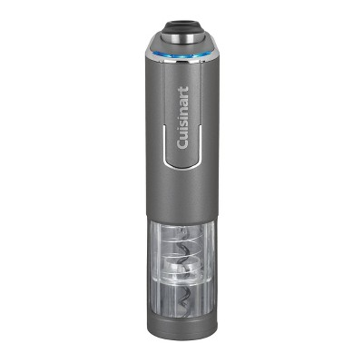 Cuisinart EvolutionX Rechargeable Cordless Wine Bottle Opener - Gunmetal - RWO-100