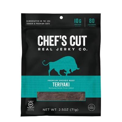 Chef's Cut Asian Style Teriyaki Beef Jerky - 2.5oz