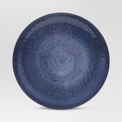 """Melamine Dinner Plate 10.5"""" Metallic Blue - Threshold™"""