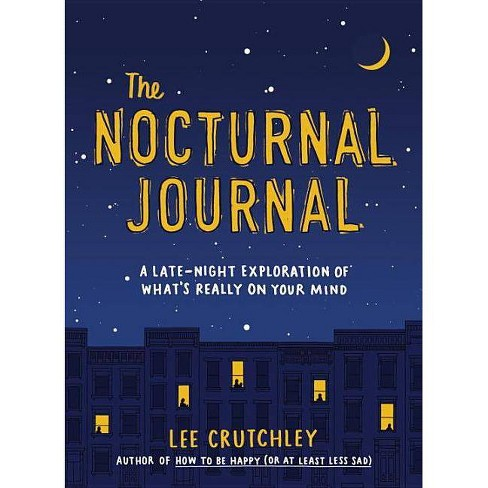The Nocturnal Journal - by  Lee Crutchley (Paperback) - image 1 of 1