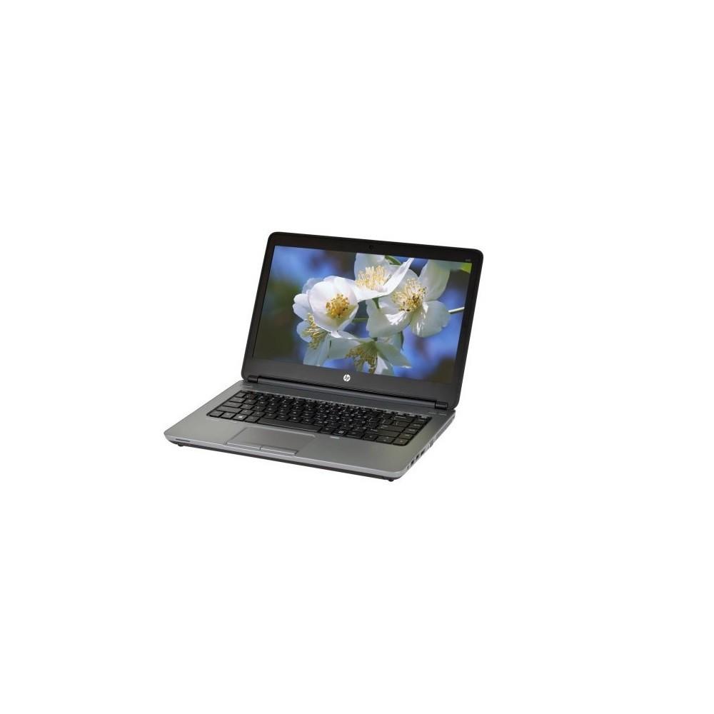 HP 640G1 Windows 10 Pro Laptop - Grey 500GB Hard Drive (640g1500) (Refurbished), Gray & Black