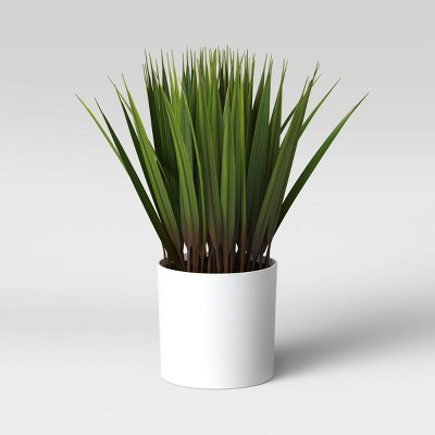 "10"" x 6"" Artificial Grass Arrangement - Threshold™"