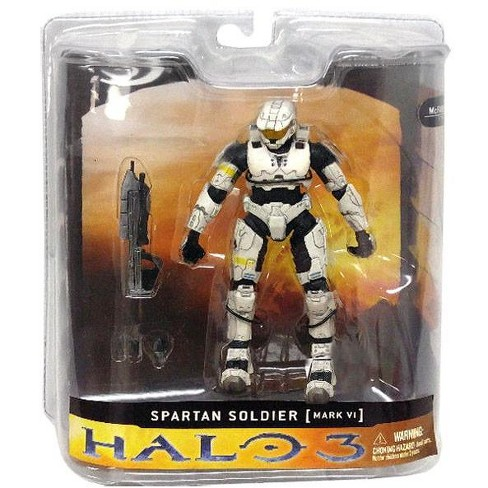 McFarlane Toys Halo 3 Spartan Soldier Mark VI Action Figure [White] - image 1 of 2