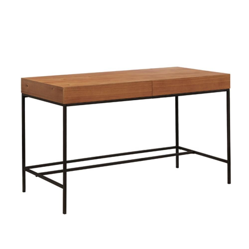 Bonilla Writing Desk Oak (Brown) - Mibasics