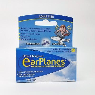 EarPlanes AEP Earplugs - 1 pair