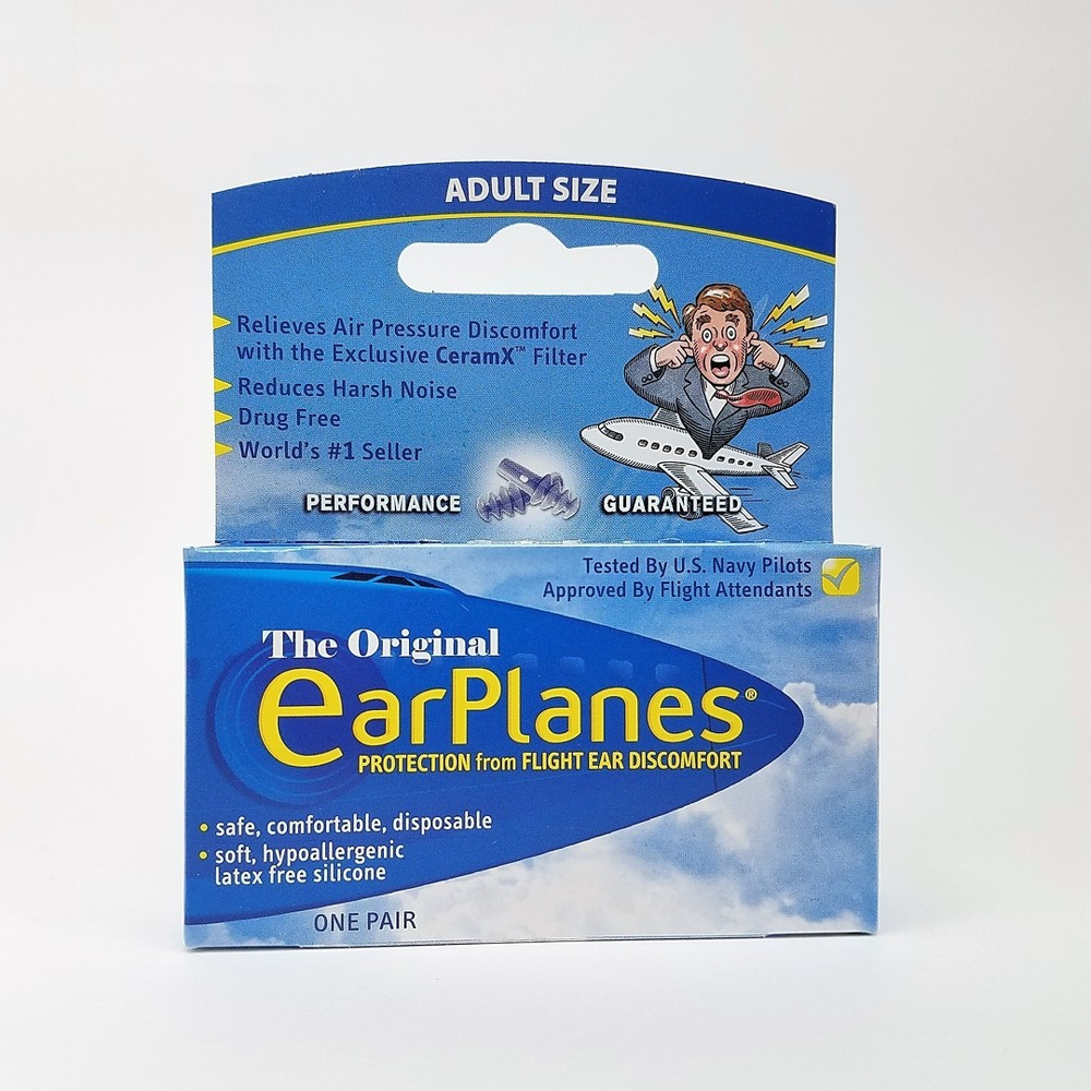 EarPlanes Aep Earplugs - 1 pair