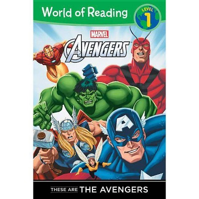 These are The Avengers Level 1 Reader by Disney Book Group (Paperback) by Thomas Macri