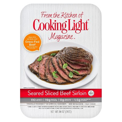 Cooking Light Seared Sliced Beef Sirloin - 14oz