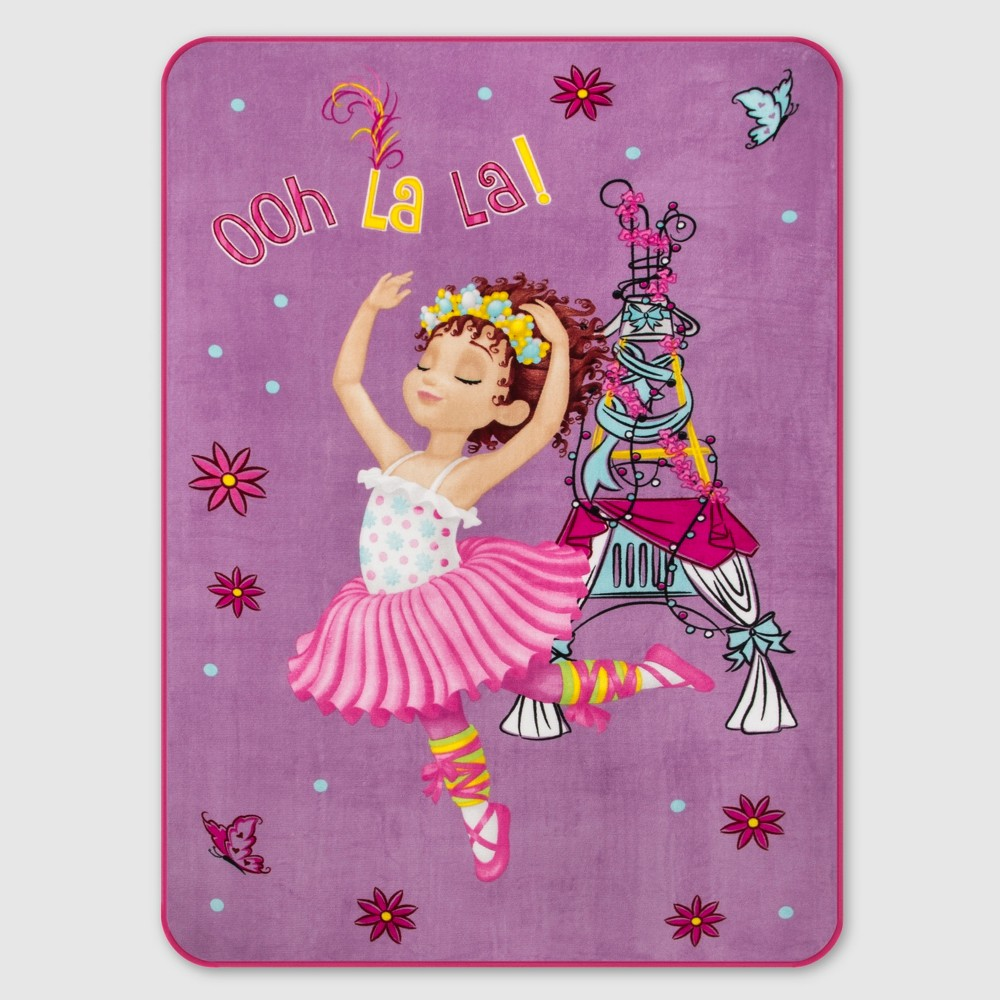 Image of Fancy Nancy Twin Blanket Pink