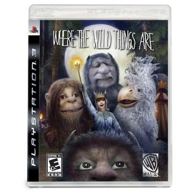 Where the Wild Things Are: The Videogame PS3
