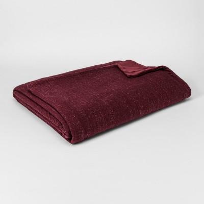 Jersey Plush Blanket (Full/Queen)Berry - Project 62™
