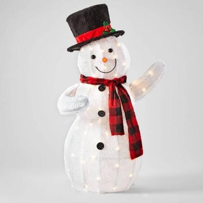 42in Plush Snowman Christmas Novelty Sculpture - Wondershop™