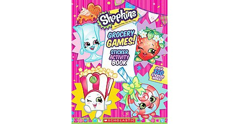 Grocery Games! Sticker Activity Book (Paperback) - image 1 of 1