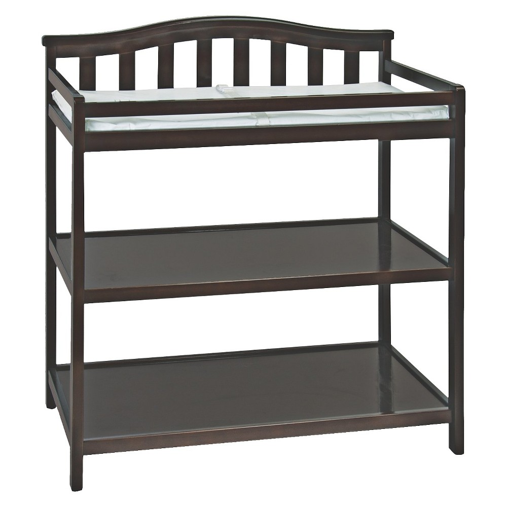 Image of Child Craft Arch Top Changing Table - Jamocha