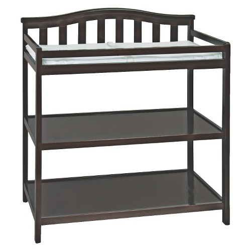 Child Craft Arch Top Changing Table - Jamocha, Brown
