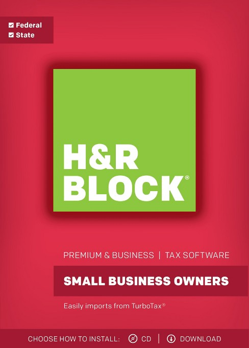 H&R Block Premium & Business 2017 Tax Software - image 1 of 3
