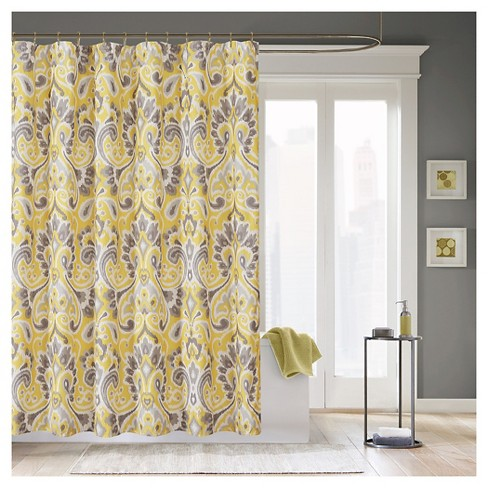 Milan Ikat Print Shower Curtain