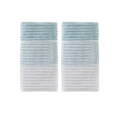 2pc Planet Hand Towel Set Aqua - Saturday Knight Ltd.