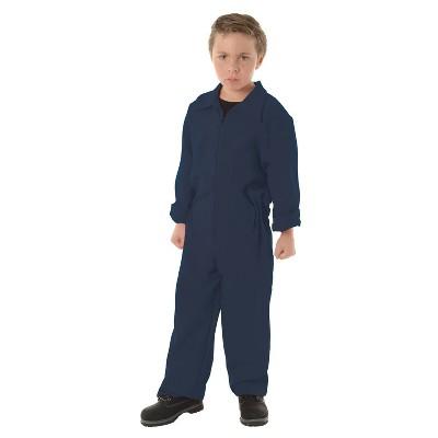 Kids' Boiler Suit Dark Blue Halloween Costume - 10-12
