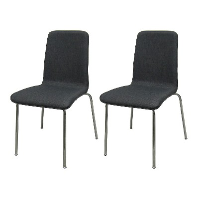 Upholstered Stacking Chair (Set Of 2)   Room Essentials™