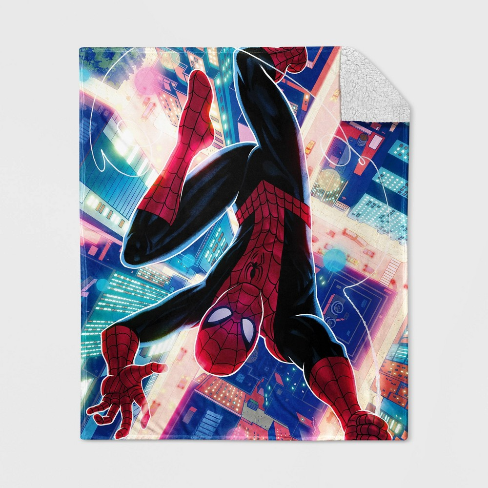 Image of Disney Spider-Man Throw, throw blankets