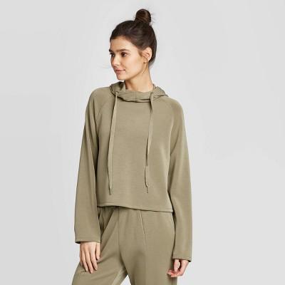 Women's Slounge Sweatshirt - JoyLab™ Moss Green L