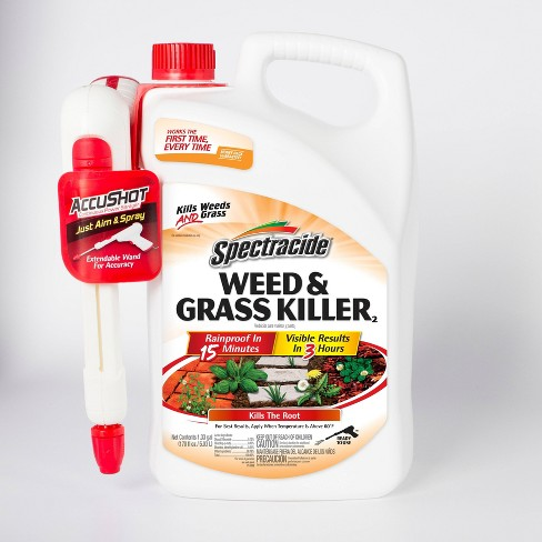1.33gal Weed & Grass Killer AccuShot Sprayer - Spectracide - image 1 of 4