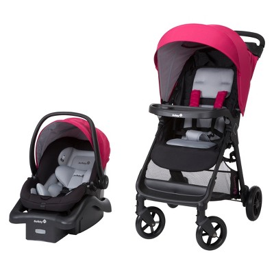 Safety 1st Smooth Ride Travel System - Sangria