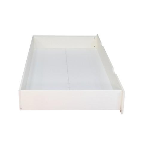 Bed Storage Drawer Twin White Nuikids Target