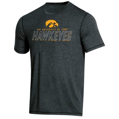 NCAA Men's Short Sleeve Poly T-Shirt Iowa Hawkeyes - image 1 of 2