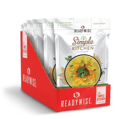 ReadyWise Simple Kitchen Creamy Cheddar Broccoli Soup - 34.2oz/6ct