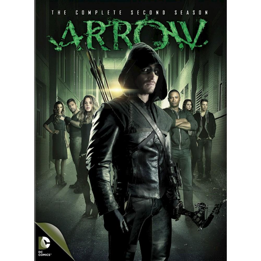 Arrow The Complete Second Season Dvd