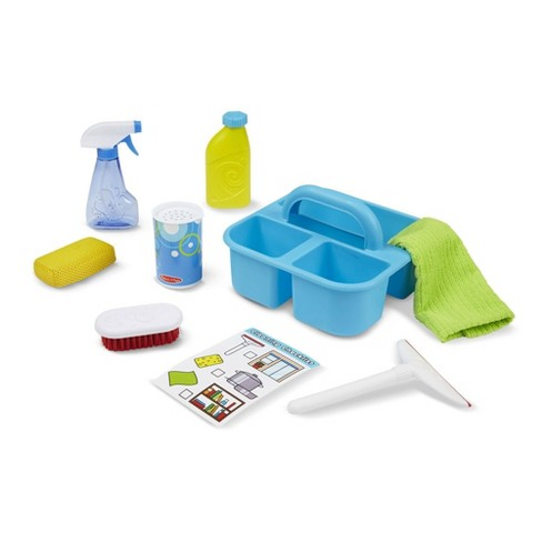 Melissa & Doug Spray, Squirt & Squeegee Play Set - Pretend Play Cleaning Set - image 1 of 4