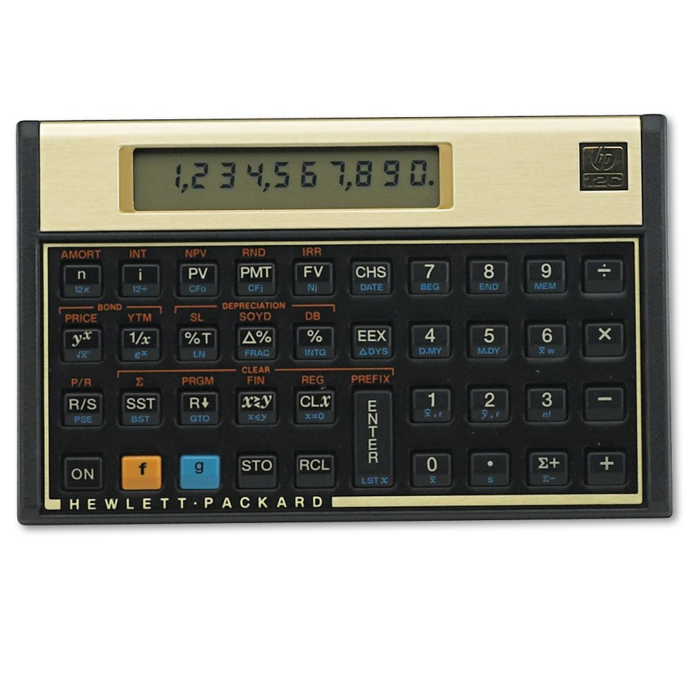 Image of HP 12C Financial Calculator, 10-Digit LCD