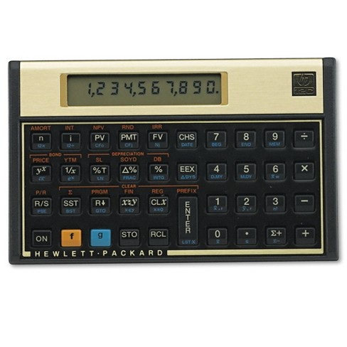 HP 12C Financial Calculator, 10-Digit LCD - image 1 of 1