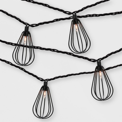 10ct Wire Outdoor String Lights - Project 62™ - image 1 of 2