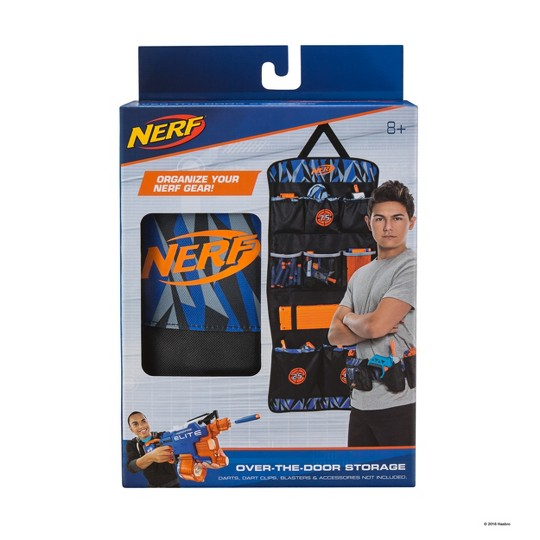 NERF Elite Over The Door Storage image number null