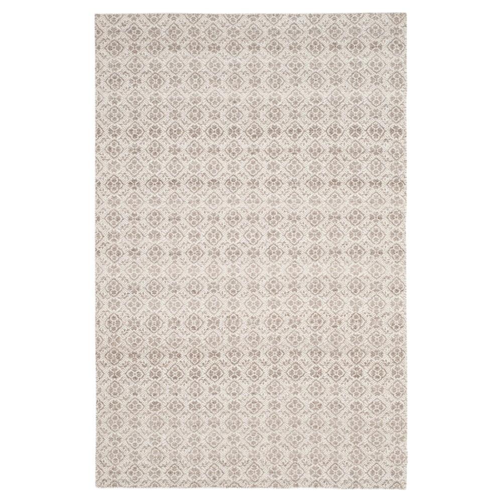 Kilim Rug - Gray/Ivory - (4'x6') - Safavieh