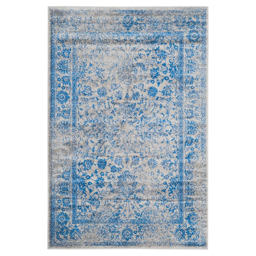 Reid Area Rug - Gray/Blue (8'x10') - Safavieh