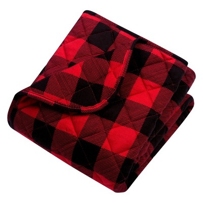 Trend Lab Reversible Baby Quilt - Buffalo Check