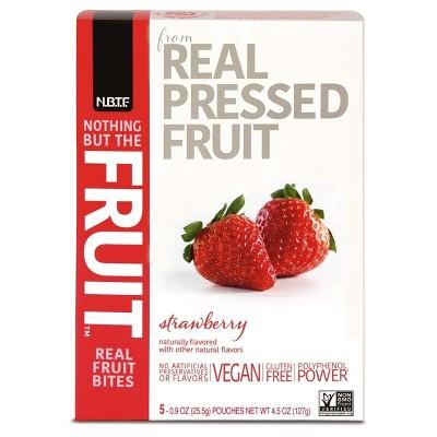 Fruit Snacks: Nothing But The Fruit
