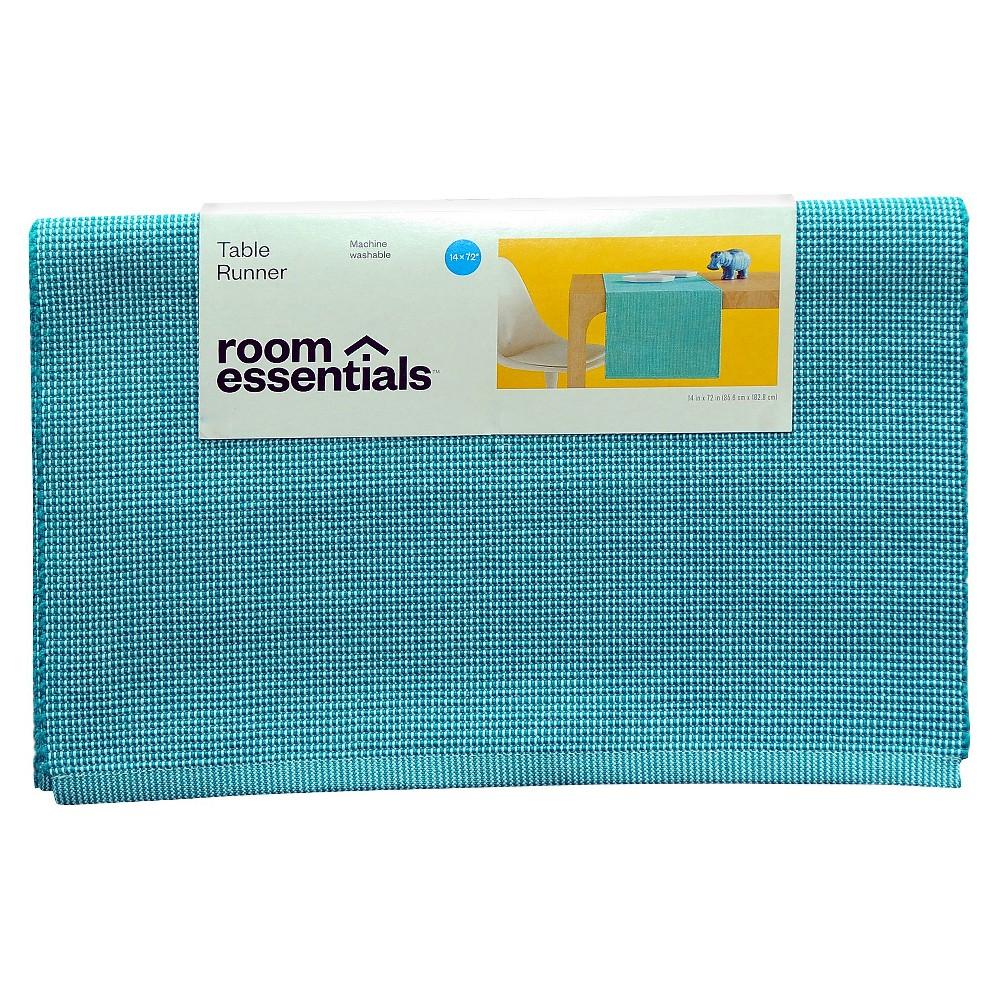 Runner Ribbed Caribbean - Aqua/Teal Blue - Room Essentials