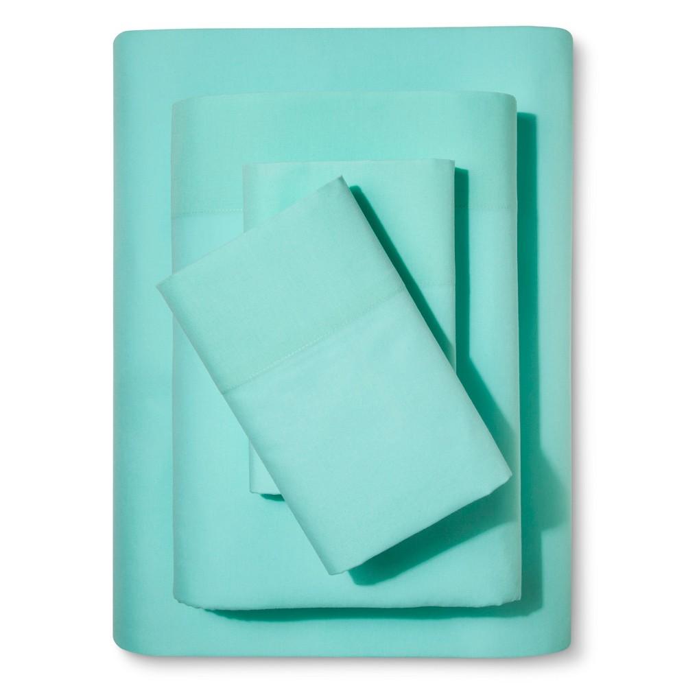 Solid 100% Cotton Sheet Set (Full) Mint (Green) 4pc - Pillowfort
