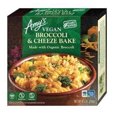 Amy's Gluten Free and Vegan Frozen Broccoli & Cheese Bake - 9.5oz