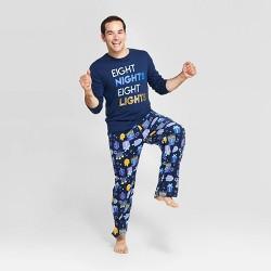 Men's Holiday Hanukkah Pajama Set - Wondershop™ Navy