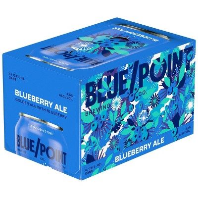 Blue Point Blueberry Ale Beer - 6pk/12 fl oz Cans