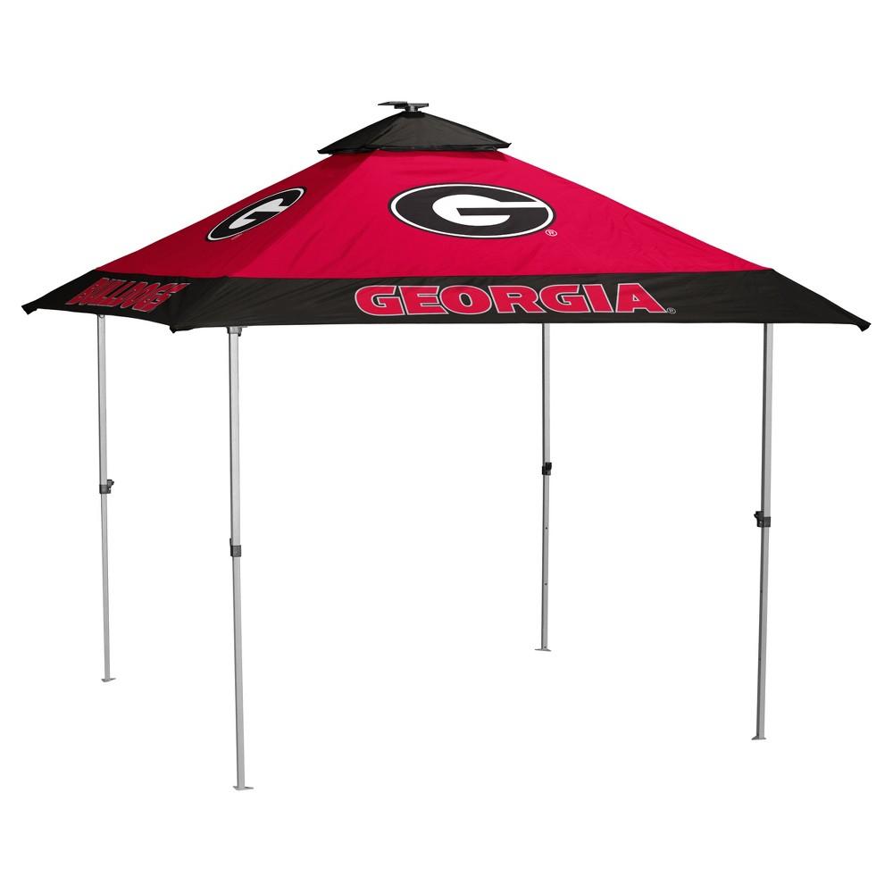 NCAA Georgia Bulldogs Logo Brands Pagoda 10x10 Canopy Tent