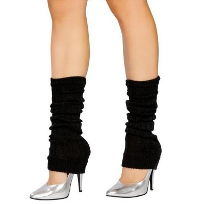 Forum Novelties Black Leg Warmers