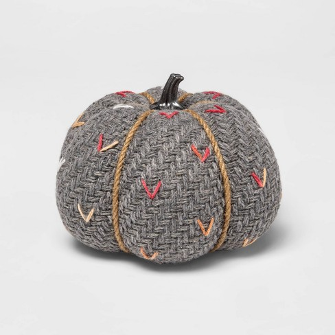 Medium Tweed with Stitch Fabric Harvest Pumpkin - Spritz™ - image 1 of 1